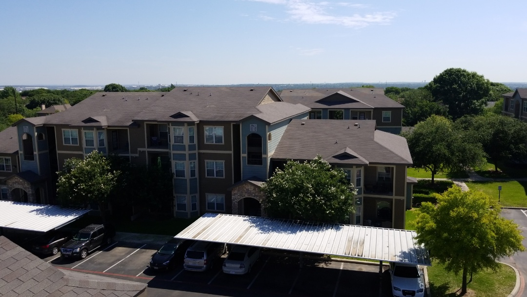 Universal City, TX - Apartment complex wind damage inspection