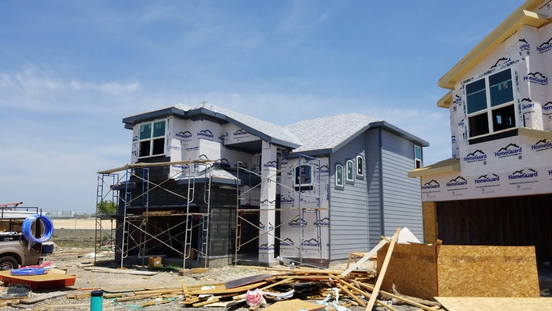 Converse, TX - New construction dry in