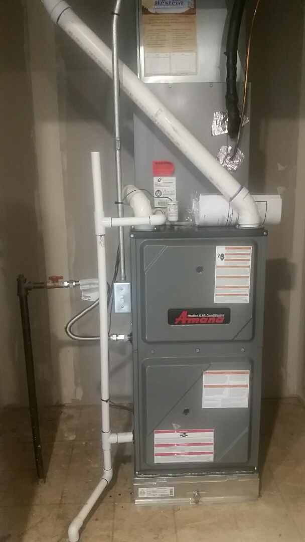 South Jordan, UT - New Amana 2 stage Gas Furnace