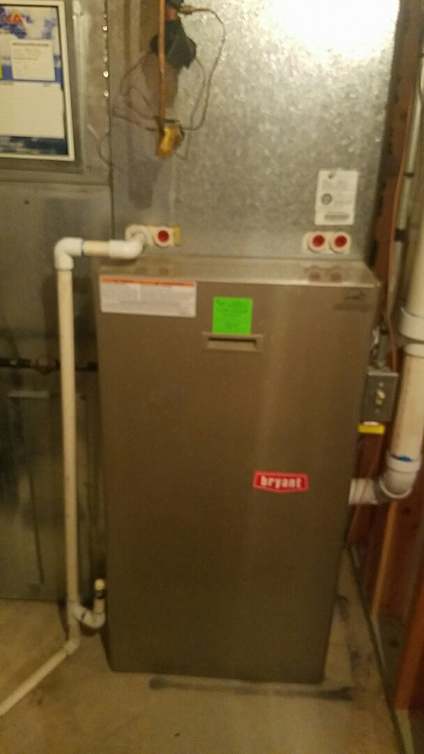 Salt Lake City, UT - Finished furnace tune up on Bryant equipment