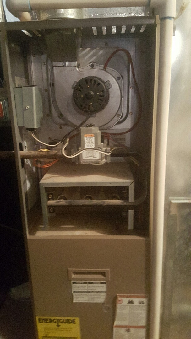 Santaquin, UT - Furnace repair on armstrong furnace. Bad heat exchanger
