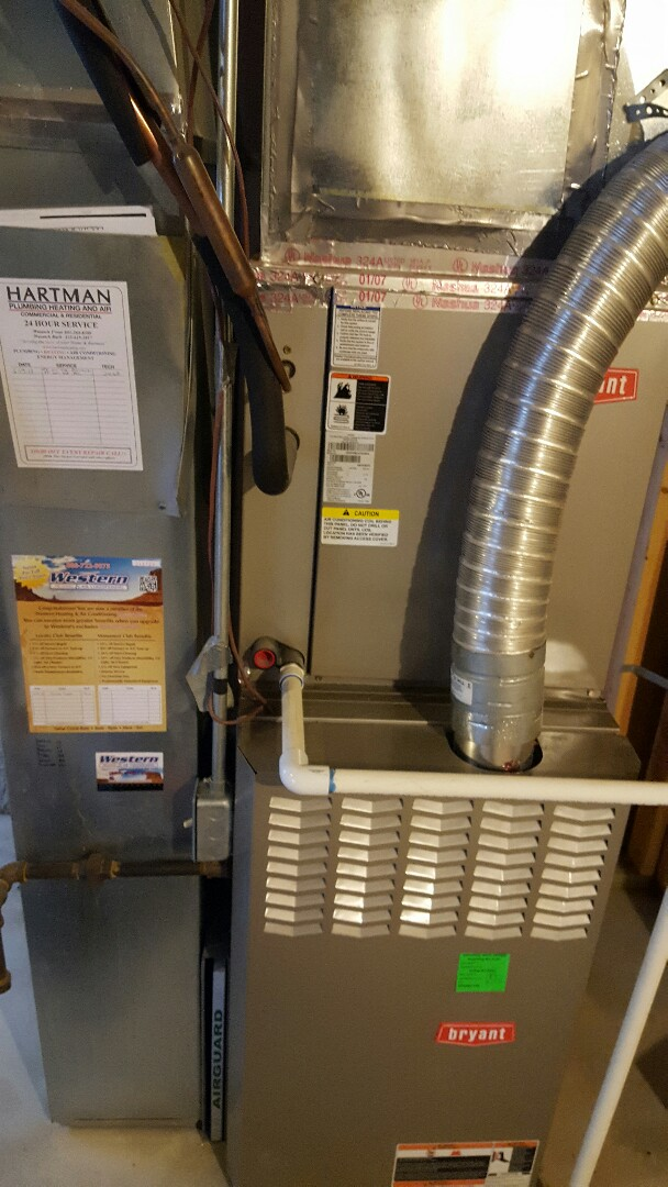 Eagle Mountain, UT - Performed a furnace tuneup on a Bryant furnace.