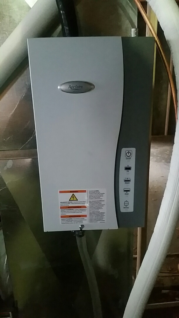 Draper, UT - Install Steam Humidifier