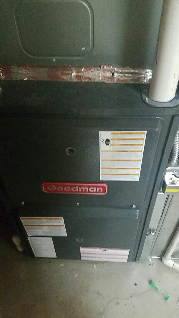 Mapleton, UT - Finished furnace tune up on Goodman system