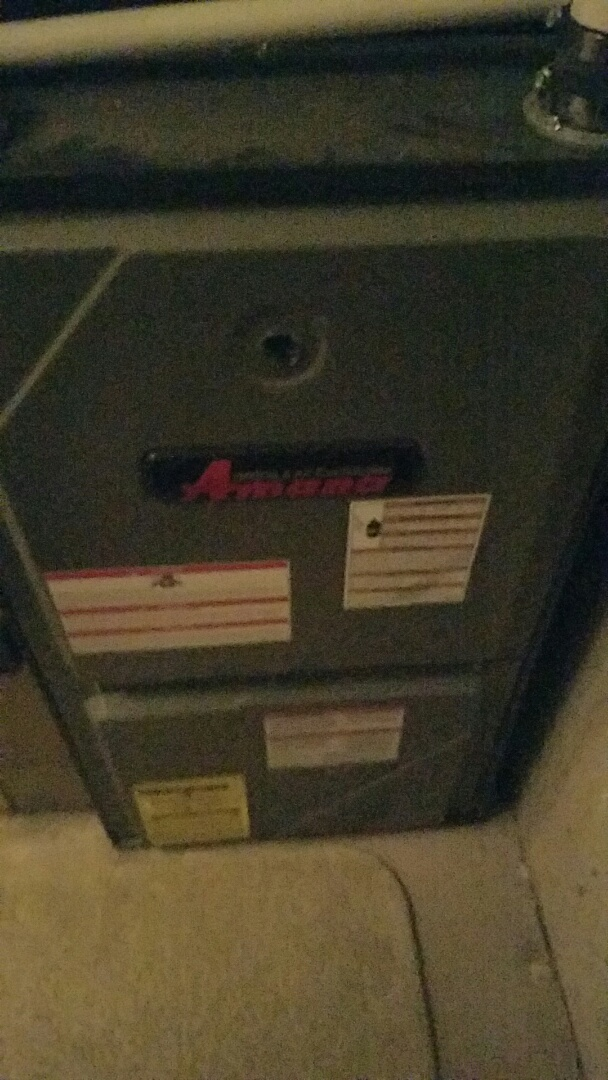 Riverton, UT - Finished furnace tune up on Amana system