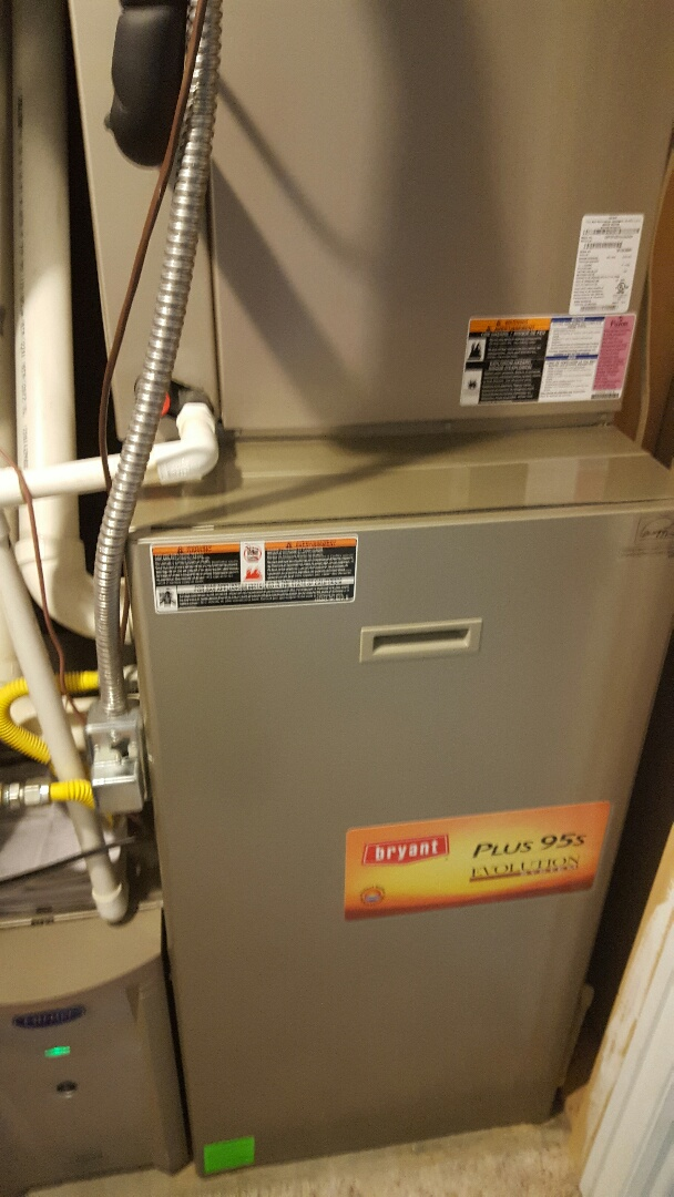 Payson, UT - Performed a furnace tuneup on a Bryant furnace.