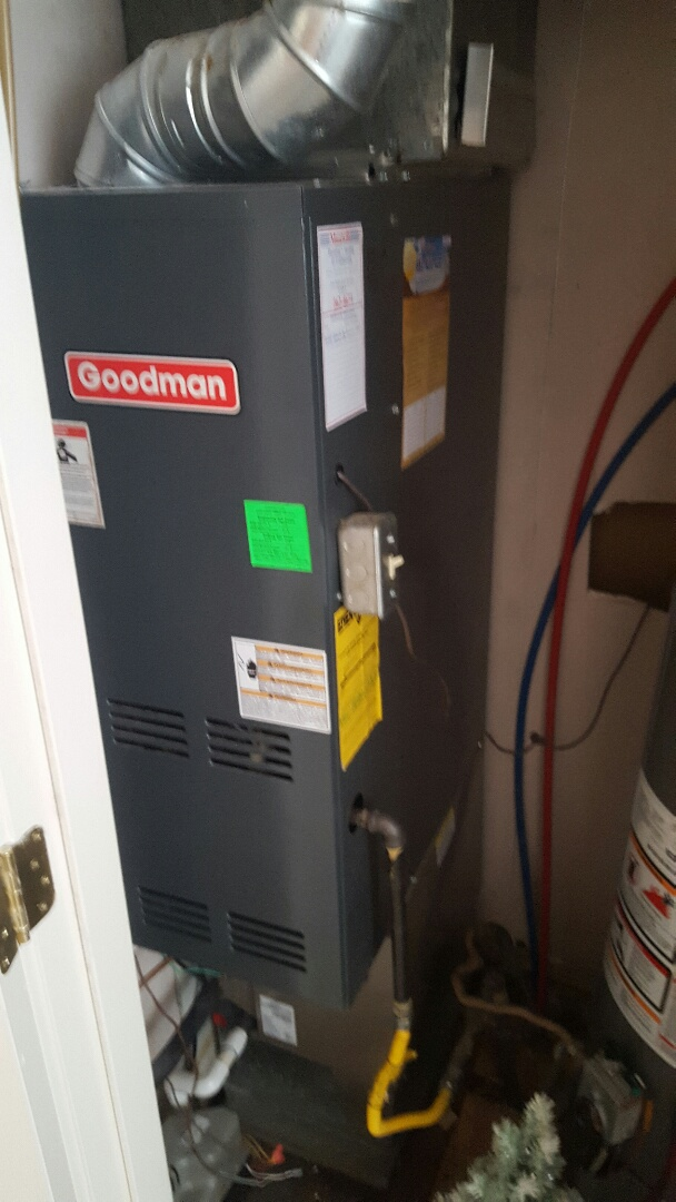 Performed a furnace tuneup on a Goodman furnace