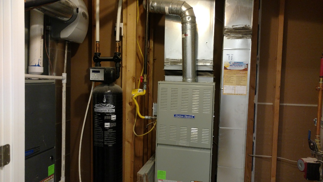 Mapleton, UT - Full duct cleaning of return and supply ducts and trunk lines. 2 furnaces.