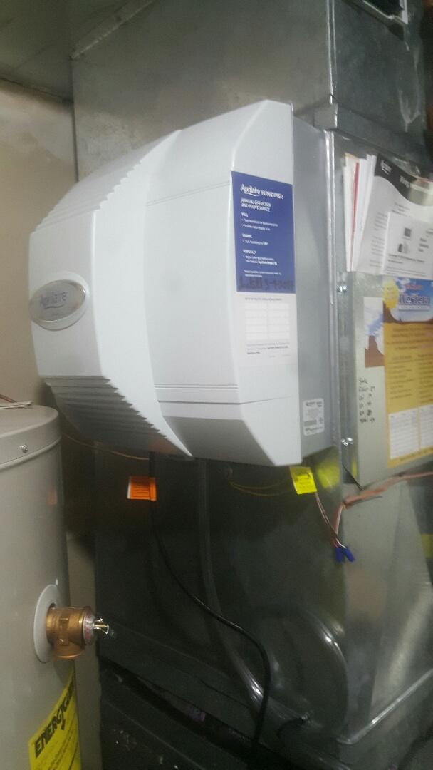 Spanish Fork, UT - Installed aprilaire 700 humidifier