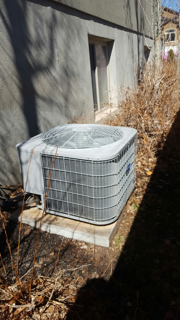 Saratoga Springs, UT - A/C tuneup on a Bryant air conditioner