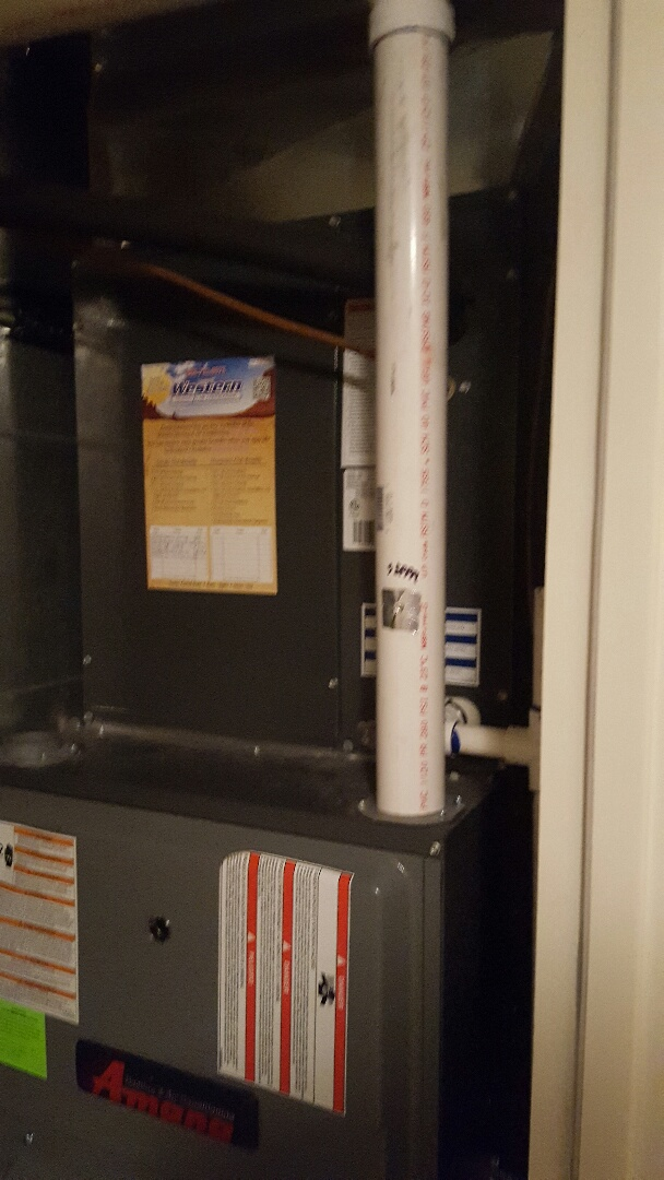 Spanish Fork, UT - Air conditioning tuneup on an Amana air conditioner