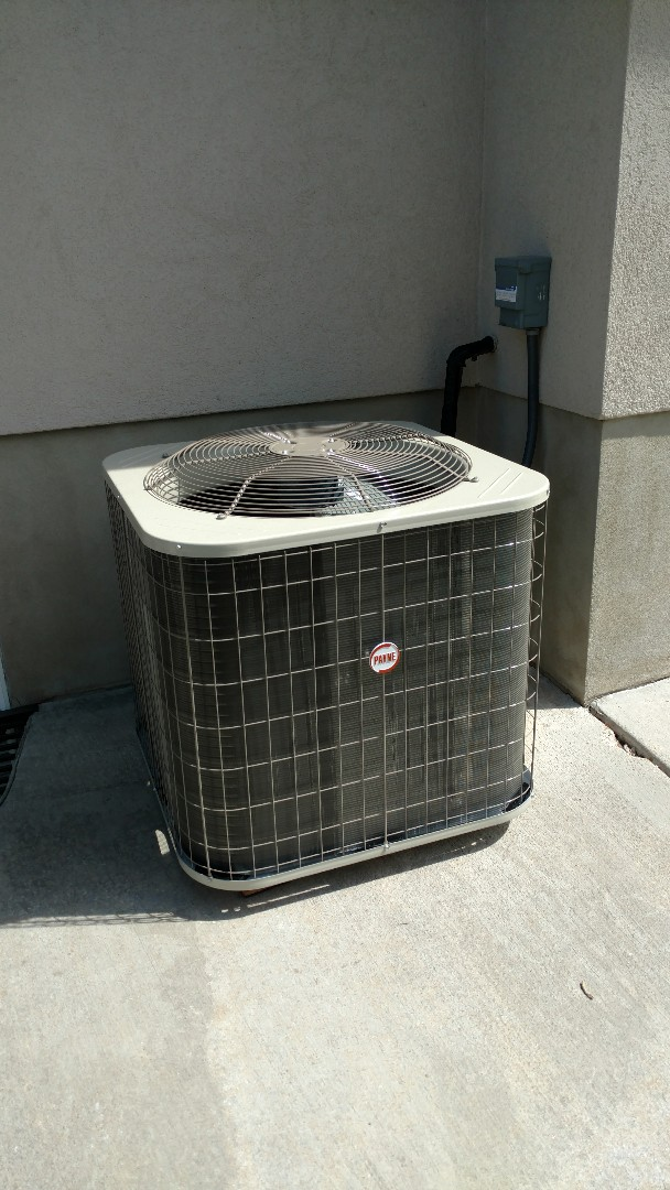 Pleasant Grove, UT - Install condenser and coil. Cleaned line sets and replaced electrical whip.