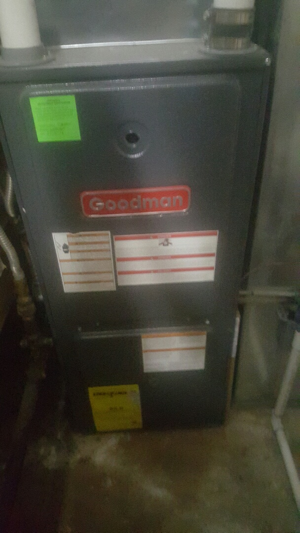 Provo, UT - Furnace repair replaced t-stat wire on goodman furnace