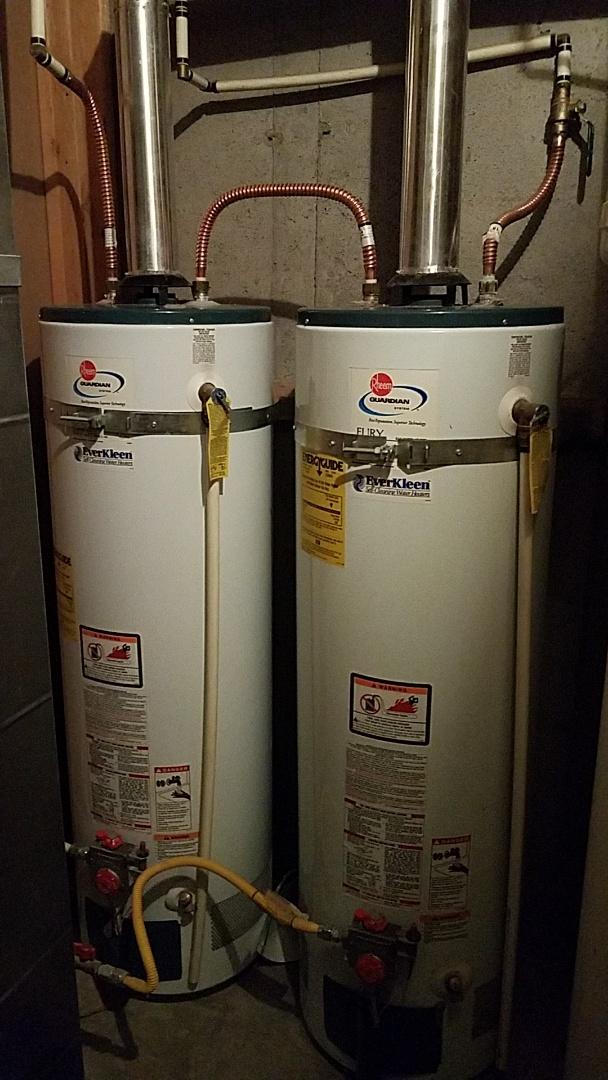 Lehi, UT - Water heater check