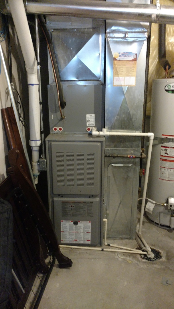 Provo, UT - Full duct cleaning of supplies returns and trunk lines. Rerouted water heater flue. Full maintenance on furnace and a full maintenance on the air conditioning system.