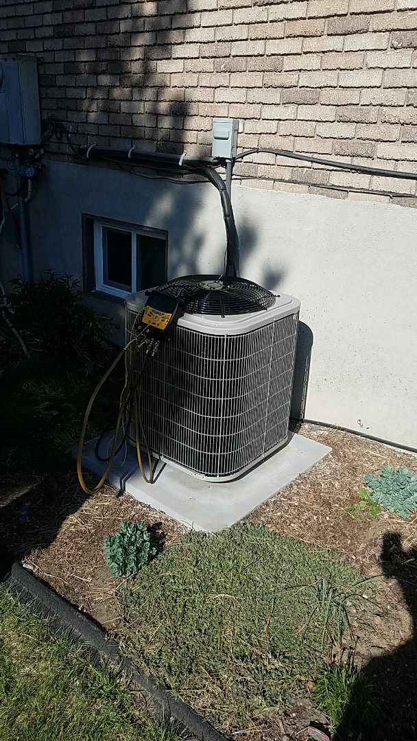Orem, UT - Air conditioning install.