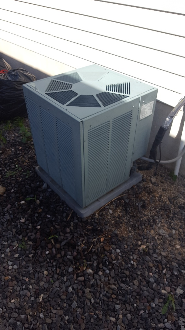 Spanish Fork, UT - Air conditioning tuneup on a Rheem air conditioning system and replaced the filter