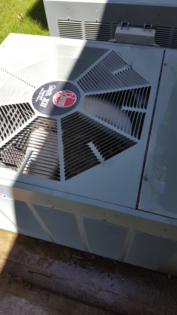 Lindon, UT - Ac tuneup on a Rheem air conditioning system and replaced the filter