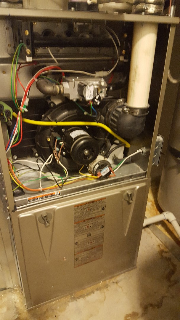 Pleasant Grove, UT - Furnace tuneup on a Carrier furnace.