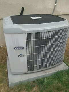 Payson, UT - A/C tune up on a Carrier system