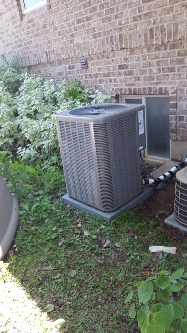 Salem, UT - Ac tuneup performed on a Lennox air conditioner