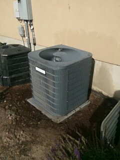 Spanish Fork, UT - A/C tune up on a Goodman condenser