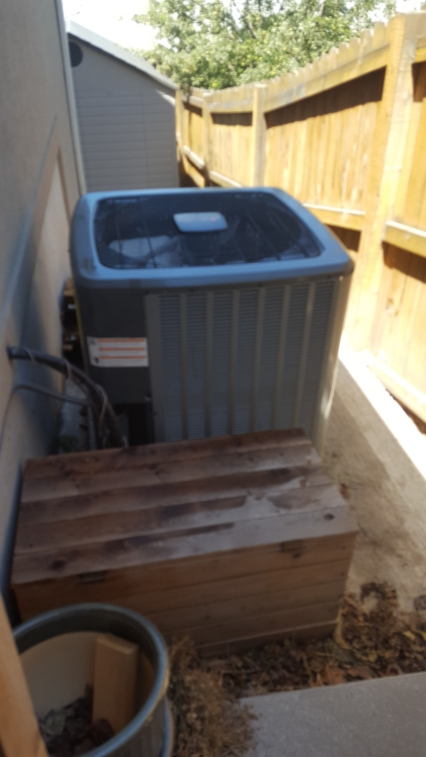 Provo, UT - Thirty point inspection performed on an Amana air conditioner and replaced the filter