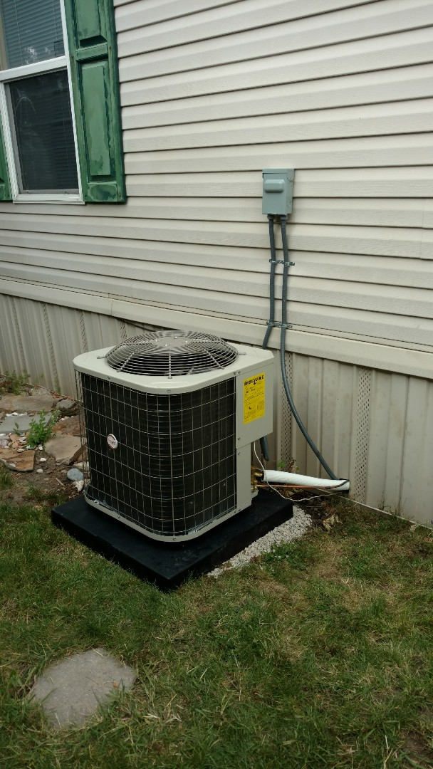 Provo, UT - AC coil and compressor changeout. Installed new tstat