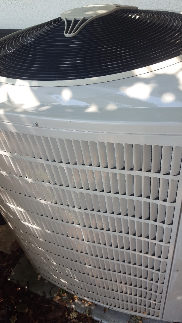 Alpine, UT - Thirty point inspection performed on a Bryant air conditioning system and replaced the filter