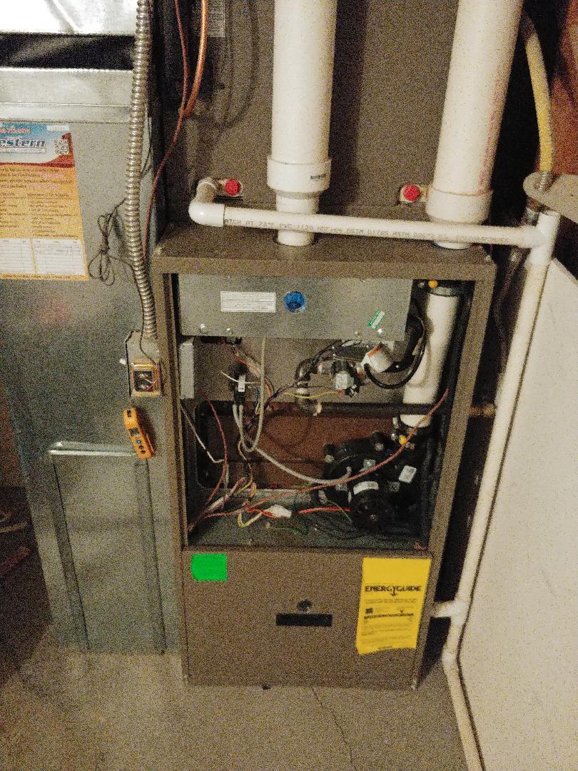 Pleasant Grove, UT - 10 year old Coleman furnace repair and maintenance.