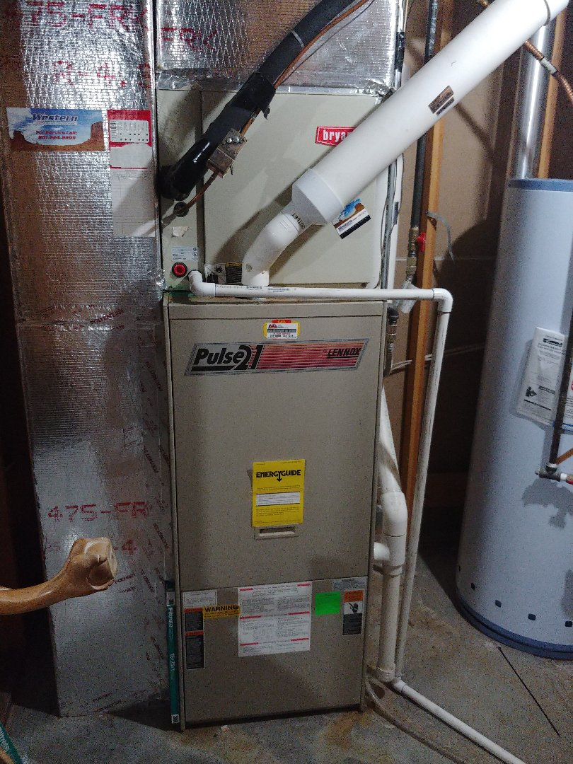 Springville, UT - A 24 year old Lennox Pulse furnace repair and maintenance