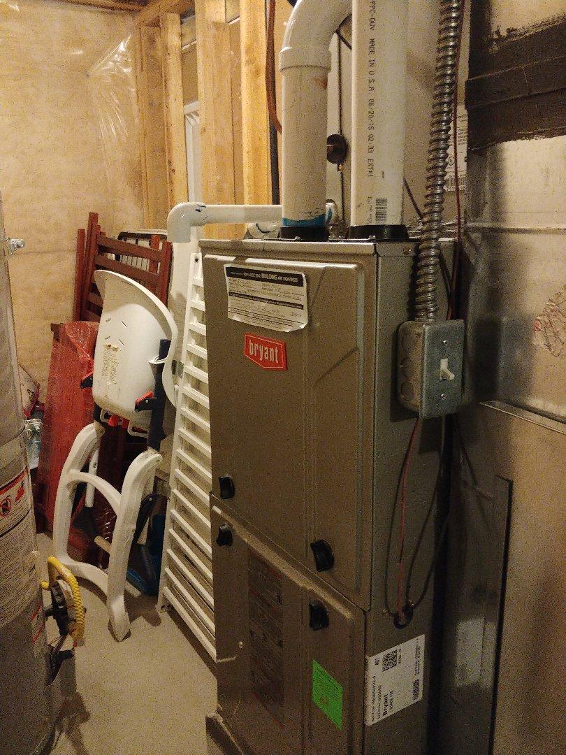 American Fork, UT - 2 year old Bryant furnace repair and maintenance