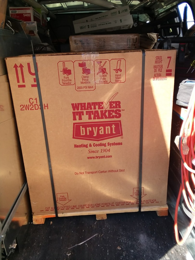 Alpine, UT - Furnace and air conditioning install Bryant Alpine Utah