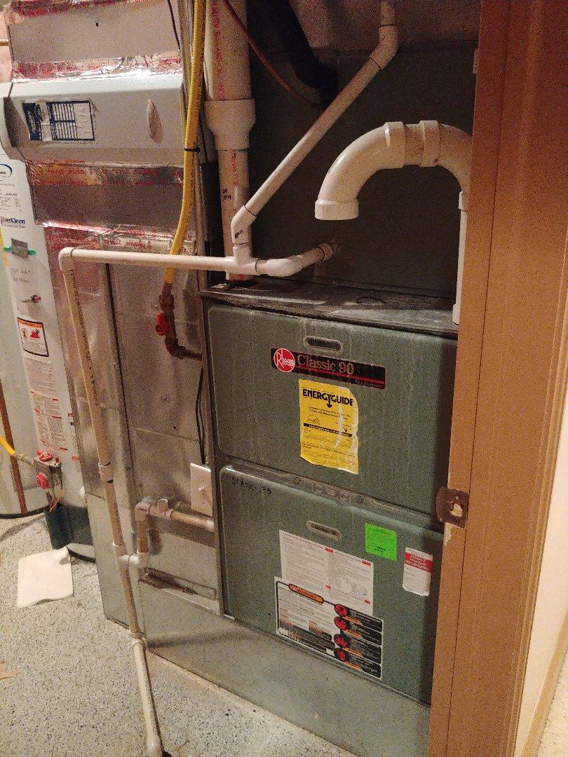 Saratoga Springs, UT - 12 year old Rheem furnace repair