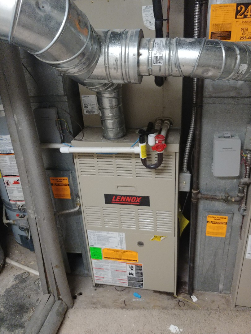 Salt Lake City, UT - 17 year old Lennox furnace repair and maintenance.