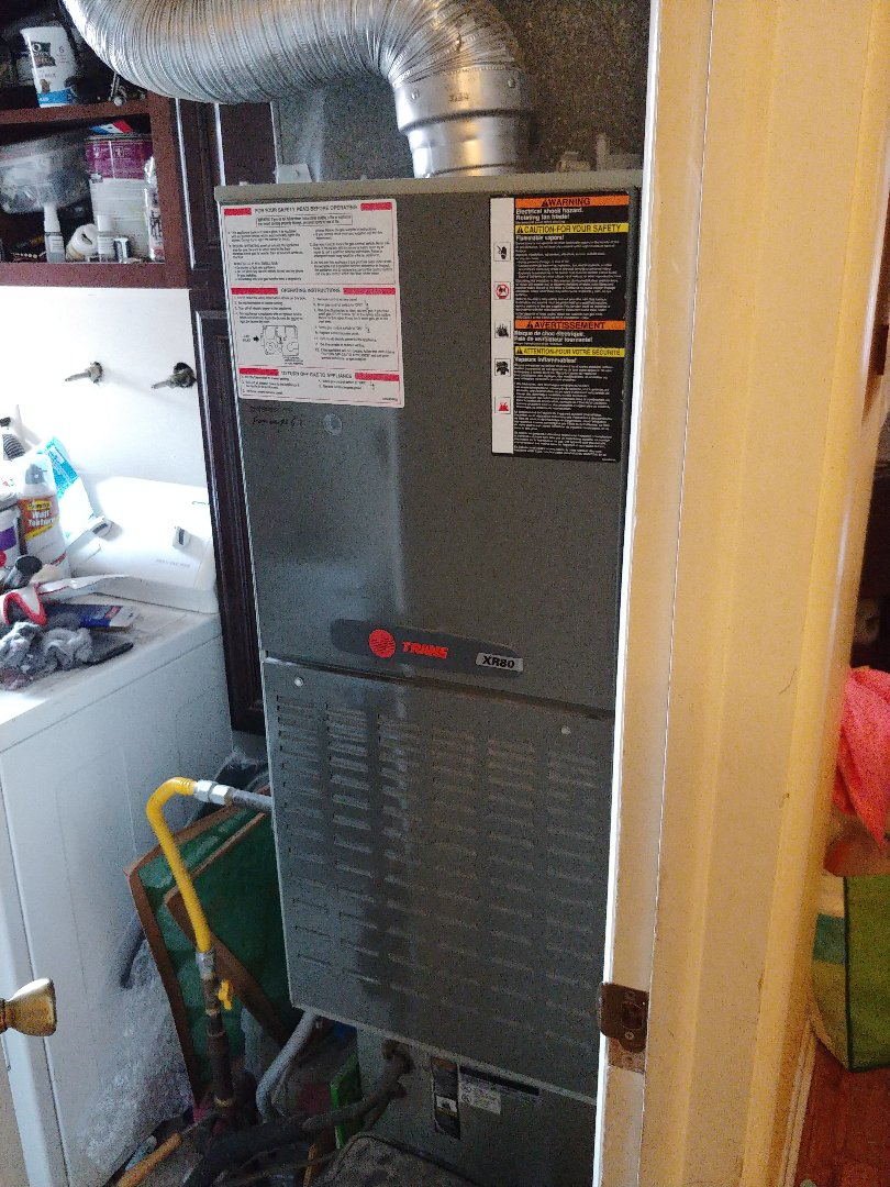 Murray, UT - 12 year old Trane furnace repair and cleaning.