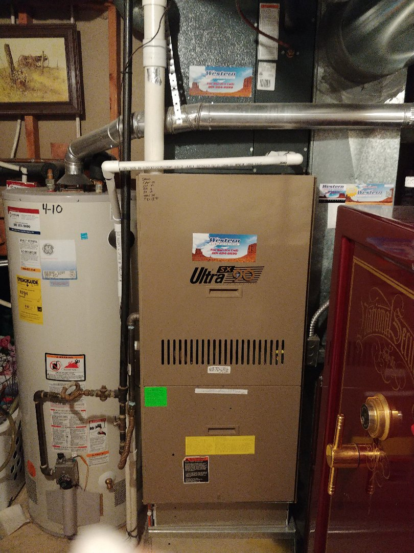 Orem, UT - 23 year old Ultra SX 90 furnace repair and maintenance.