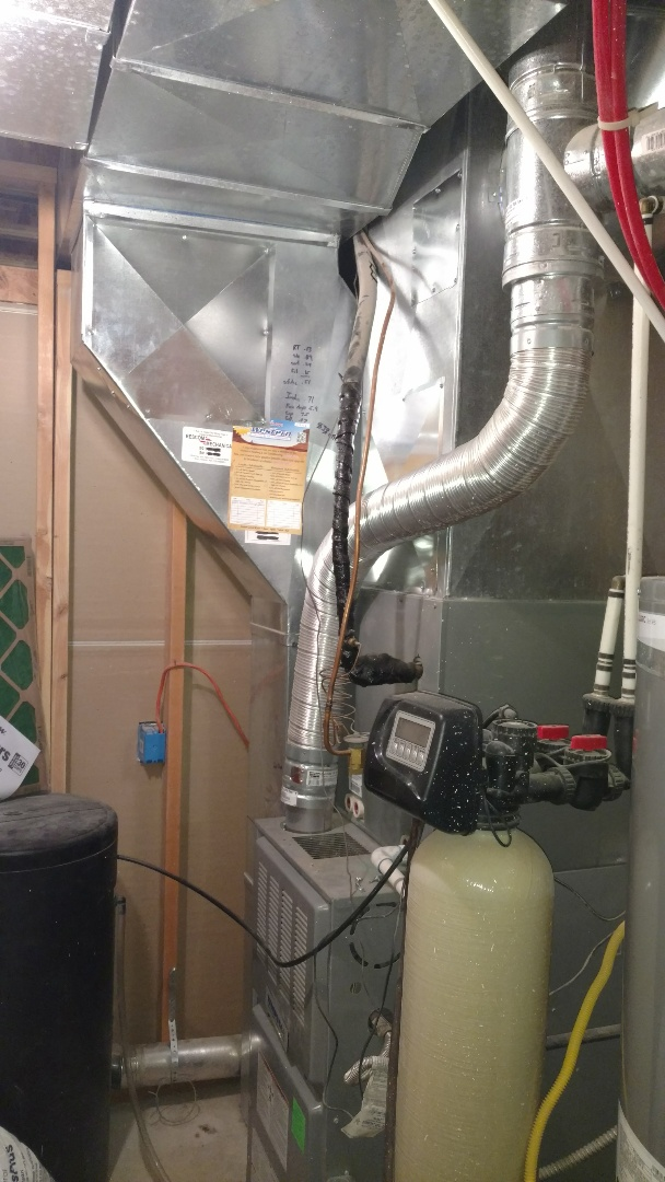 Saratoga Springs, UT - Full deck cleaning on supplies returns and trunk lines. Clean dryer vent.