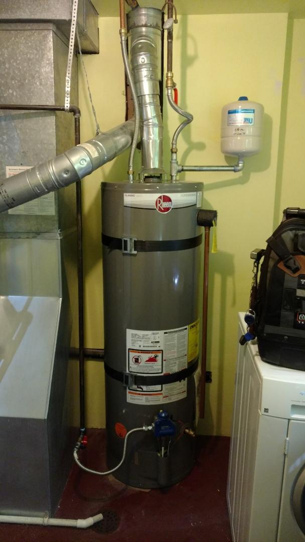 Lehi, UT - Install rheem water heater