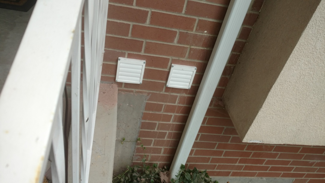 Provo, UT - Install bath fan and dryer vent with terminations.