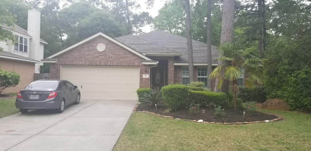 Spring, TX - Replace roof Certain Teed 30 year Algae Resistant Added Patio