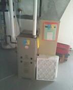 Payne furnace installation.