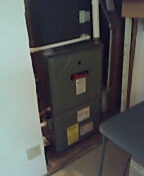 APRILAIRE thermostat install.