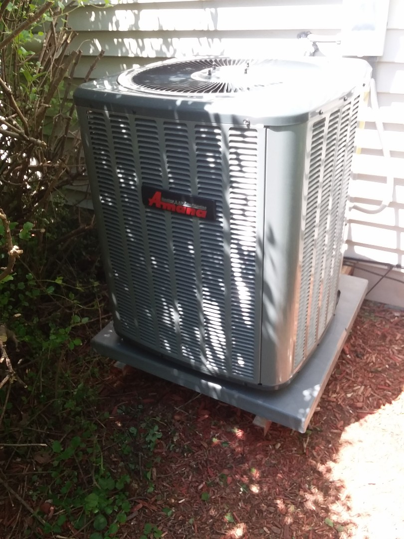 Sun Prairie, WI - Amana air conditioner installation