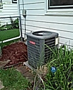 Goodman Ac cleaning and maintenance.