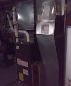 Amana furnace cleaning and APRILAIRE install