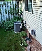 Cottage Grove, WI - TRANE Ac cleaning and service.