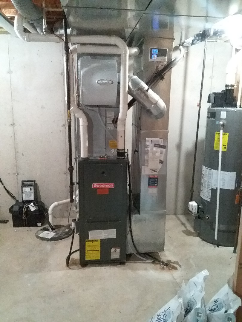 Madison, WI - Goodman furnace cleaning and maintenance.