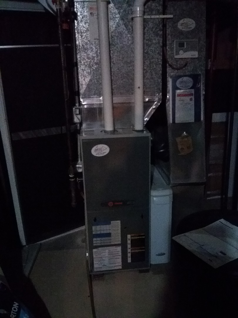 Madison, WI - Trane furnace cleaning and maintenance.