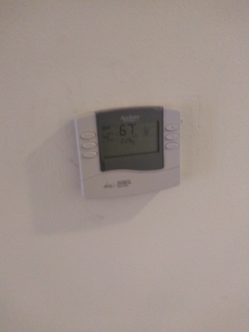 Madison, WI - Installed aprilaire thermostat